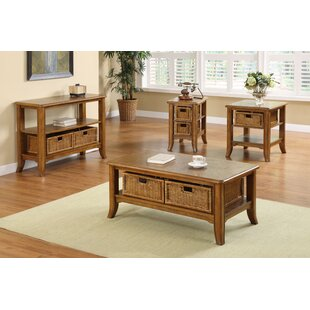 Compare prices Kentmere 4 Piece Coffee Table Set ByBreakwater Bay