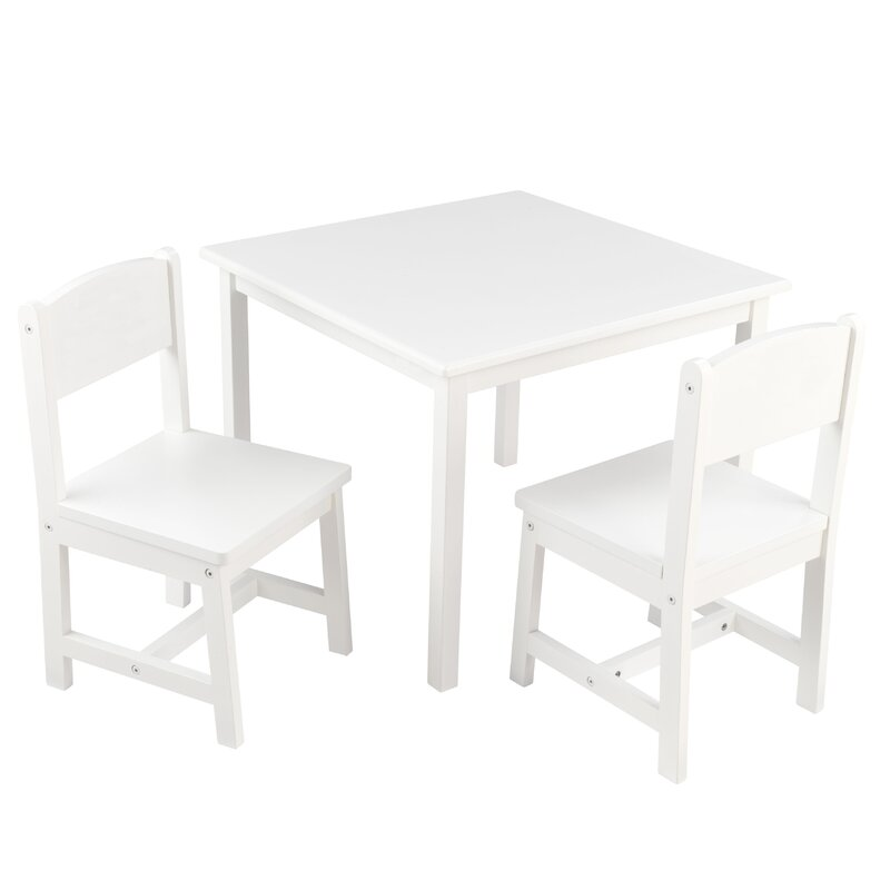 Personalized Aspen Kidsu0027 3 Piece Table And Chair Set