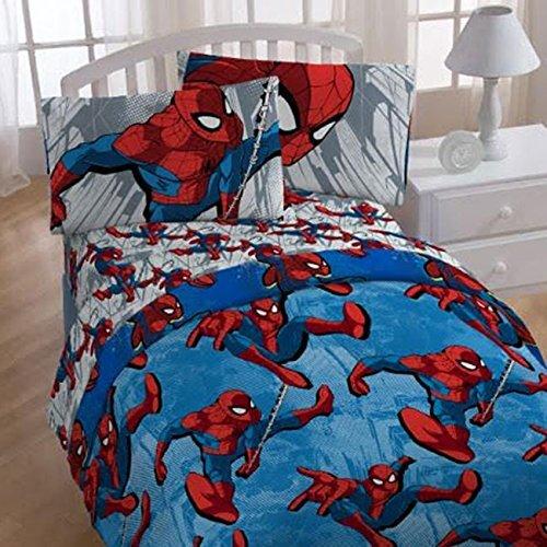 Marvel Spider Man 4 Piece Toddler Bedding Set Wayfair
