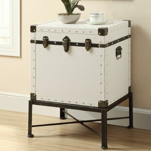 Camp End Table with Storage