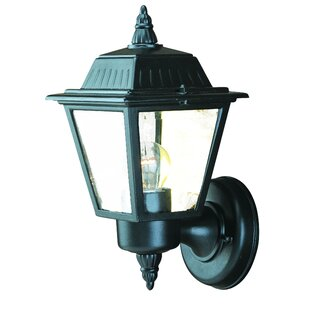 Clearance Ledbetter 1-Light Outdoor Sconce By Charlton Home