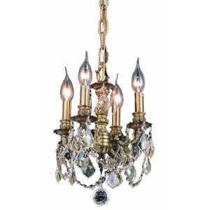 Downes 4-Light Crystal Chandelier