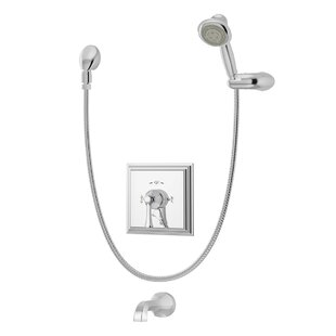 Symmons Canterbury Tub/Shower Trim with Lever Handle