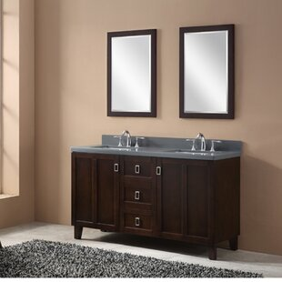 Ehlert 60 Double Bathroom Vanity Set by Ivy Bronx