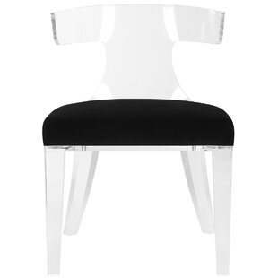 Sana Lucite Side Chair by Everly Quinn