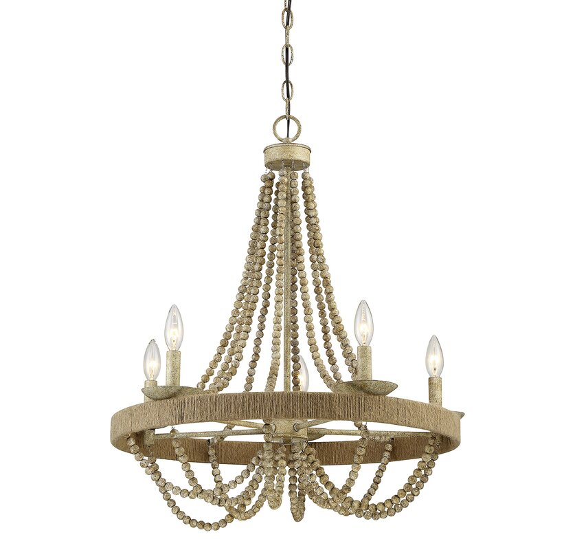 Tremiere 5 light candle style chandelier reviews allmodern tremiere 5 light candle style chandelier aloadofball Image collections