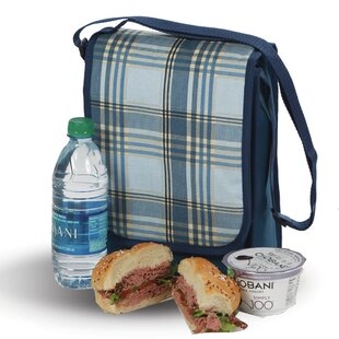 Plaid Insulated Lunch Bag