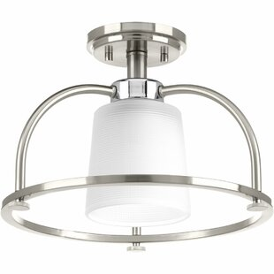 Seydou 1-Light Semi Flush Moun..