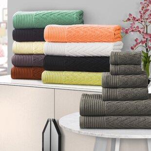 Tattnall Superior 6 Piece Towel Set