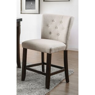 Hafford Transitional 26 Bar Stool Set of 2 by Alcott Hill