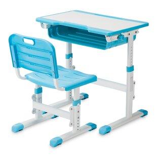 Renfroe Height Adjustable Children's Art Desk by Zoomie Kids