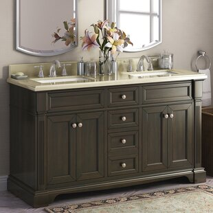 Save Lanza Bryon 60 Double Bathroom Vanity Set