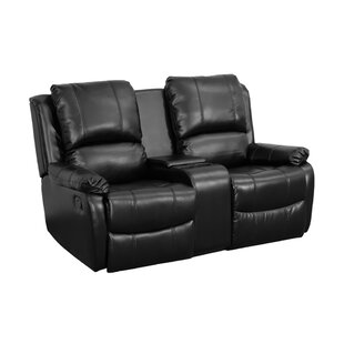 Ebern Designs Pillow Top 2-Seat Home Theater Loveseat