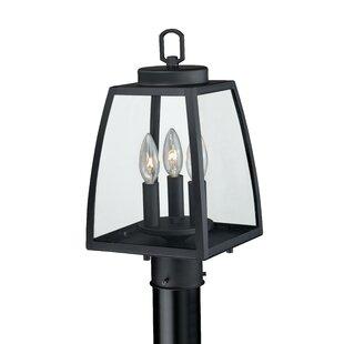 Red Barrel Studio Silver Gulch Outdoor 3-Light Lantern Head