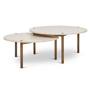Muscogee 2 Piece Coffee Table Set