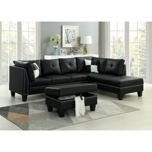 Winston Porter Redner Sectional with Ottoman