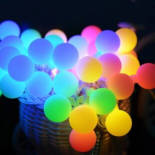 The Party Aisle 33 ft. 100-Light Novelty String Light