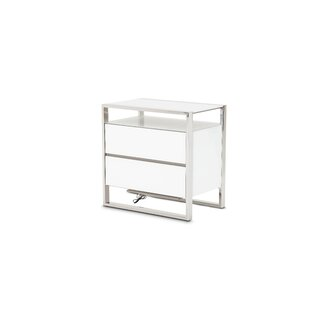 State St. 2 Drawer Nightstand
