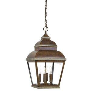 Saniyah  4-Light Outdoor Hanging Lantern