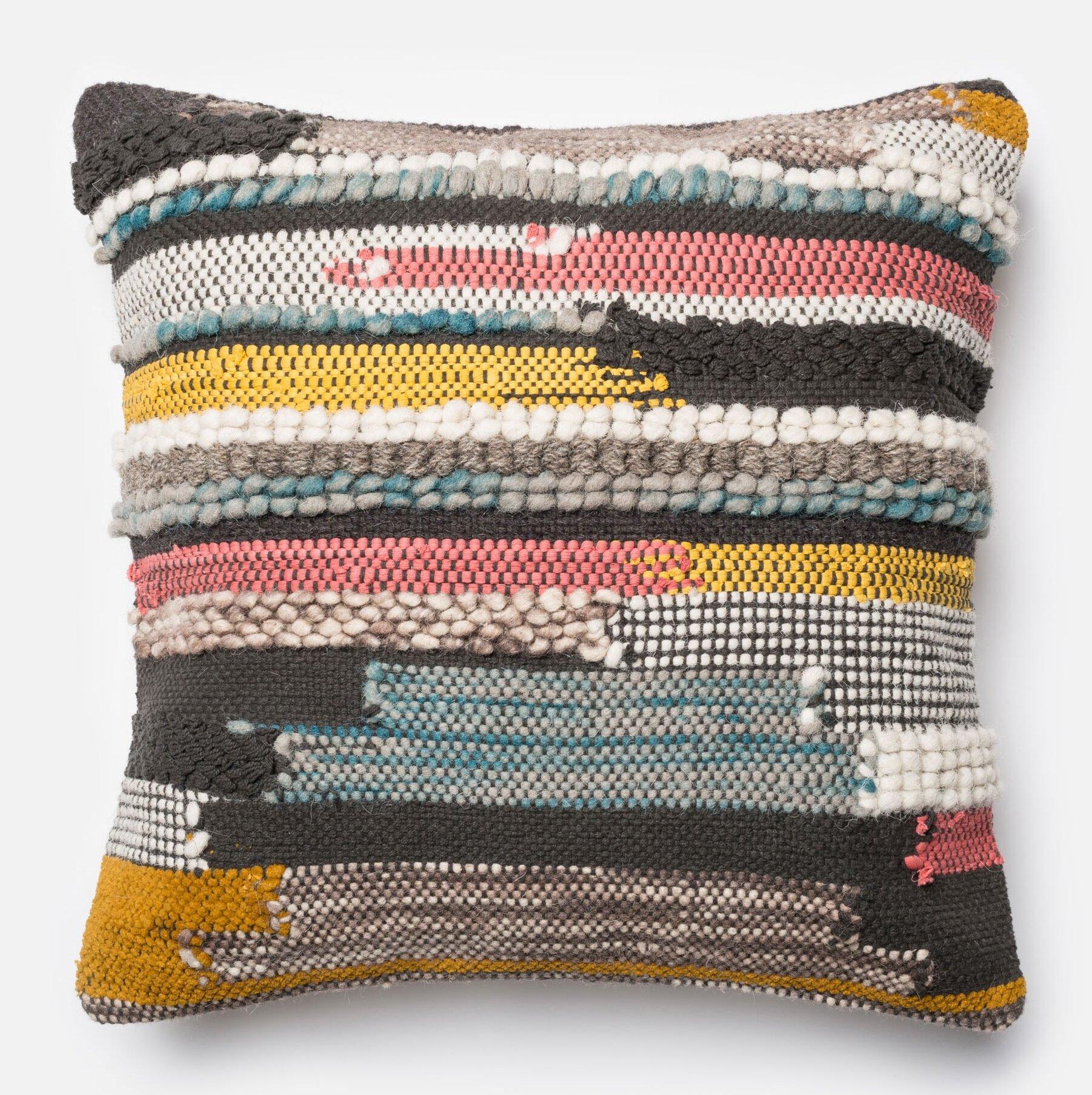 Modern Wool Throw Pillows Allmodern