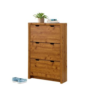 12 Pair Shoe Storage Cabinet By Union Rustic