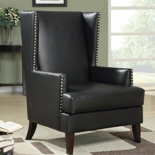 Kephart Boldly Up-scaling Wingback Chair by Alcott Hill