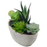 "3"" Artificial Succulent Plant in Pot"
