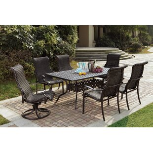 Darby Home Co Kentland 7 Piece Dining Set