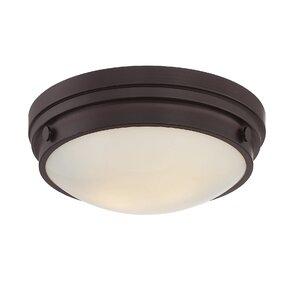 Bathroom Ceiling Lights Flush flush mount lighting you'll love | wayfair