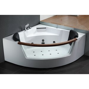 whirlpool bathtub. 59  x Corner Whirlpool Bathtub Tubs You ll Love Wayfair