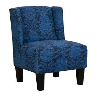 Beachcrest Home Holborn Upholstered Winged Slipper Chair