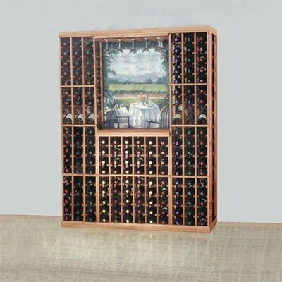 Wine Cellar Innovations Designer Series 168 Bottle Floor Wine Rack Finish: Classic Stained Premium Redwood