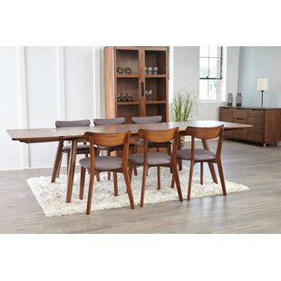 Clayborn 5 Piece Solid Wood Dining Set by Corrigan Studio Spacial Price