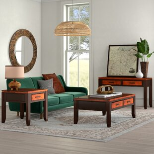 Hidalgo 3 Piece Coffee Table Set