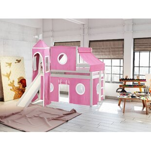 Aisling Castle Twin Low Loft Bed by Zoomie Kids Comparison