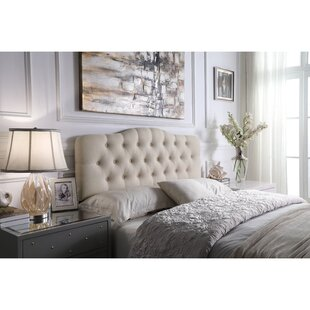Dax Upholstered Panel Headboard by Andover Mills