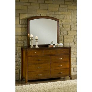 Rosas Wooden 9 Drawer Double Dresser