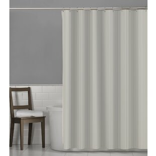 Polka Dot & Striped Shower Curtains You\'ll Love | Wayfair