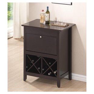 Lucrezia Dry Bar with Wine Storage