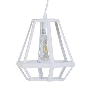 Wrought Studio Dossantos 1-Light LED Geometric Pendant