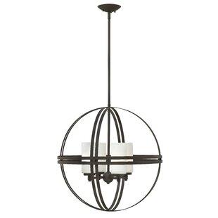 Ebern Designs Nussbaum 4-Light Chandelier
