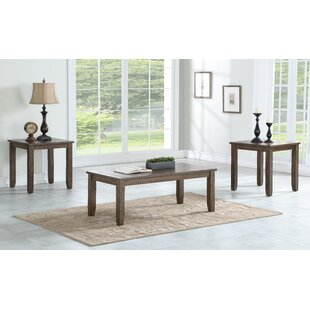 Union Rustic Chappel 3 Piece Coffee Table Set