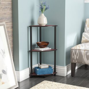 Ebern Designs Baril Corner Unit Bookcase