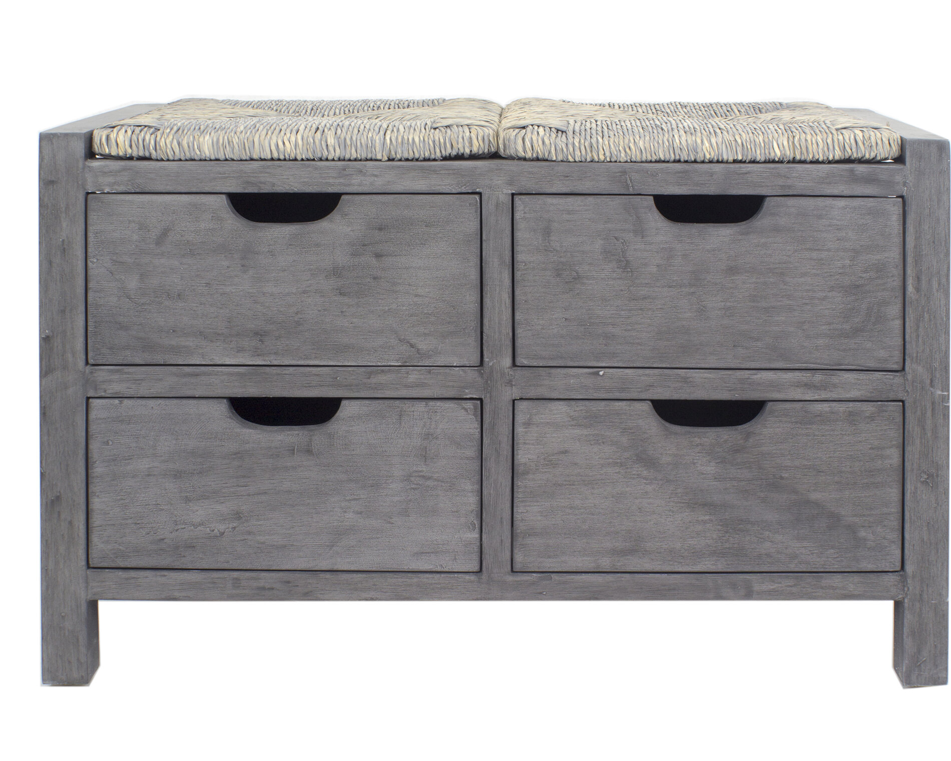 Gearhart Wood Storage Bench