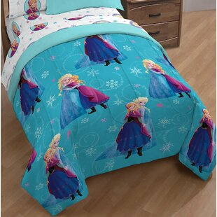 Disney Frozen Swirl Single Reversible Comforter