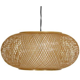 Affordable Diane 1-Light Drum Pendant By World Menagerie