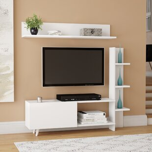 Top Morse TV Stand for TVs up to 55 by Wrought Studio Reviews (2019) & Buyer's Guide