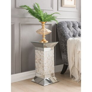 Galloway Pedestal End Table