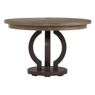 Virage Extendable Solid Wood Dining Table Stanley Furniture