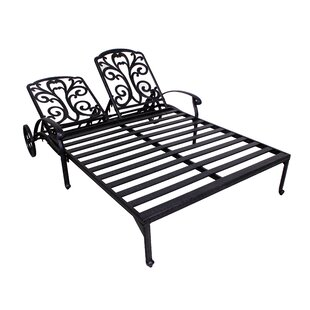 Fleur De Lis Living Thurston Double Reclining Chaise Lounge